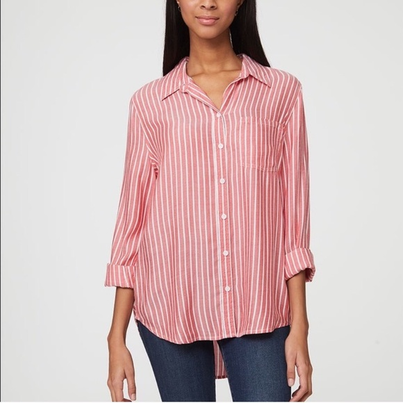 BeachLunchLounge Striped Button Down
